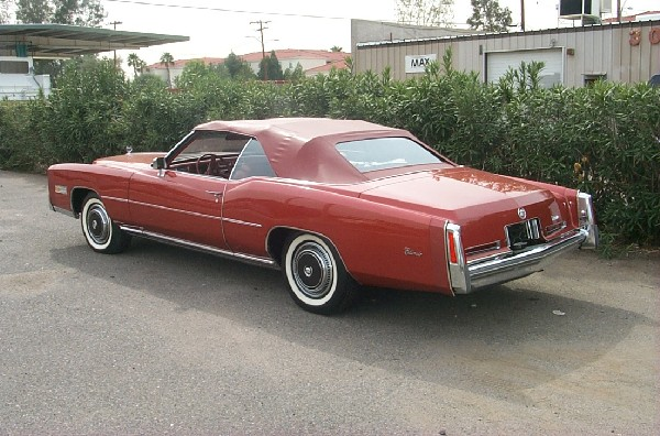 1976 CADILLAC ELDORADO UNKNOWN - Rear 3/4 - 18218