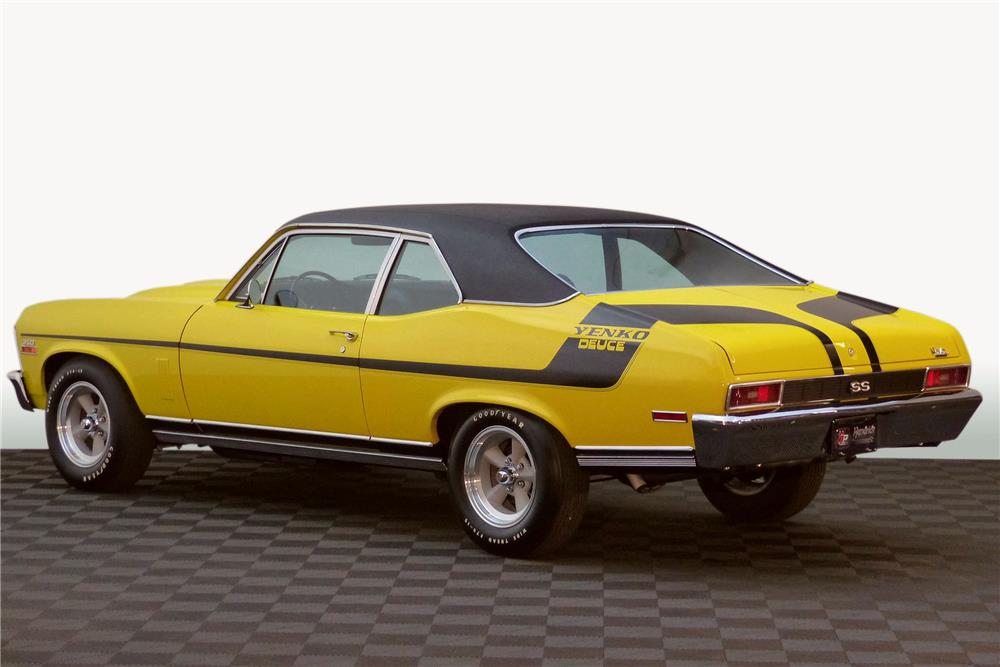 1970 CHEVROLET NOVA CUSTOM - Rear 3/4 - 182265