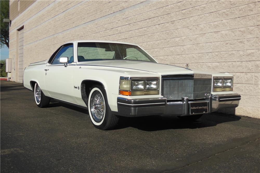 1984 CADILLAC DEVILLE CUSTOM PICKUP - Front 3/4 - 182304