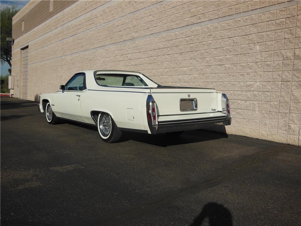 1984 CADILLAC DEVILLE CUSTOM PICKUP - Rear 3/4 - 182304