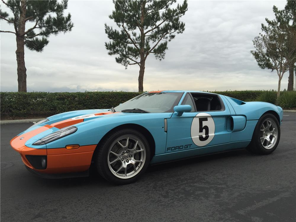 2006 FORD GT HERITAGE EDITION - Front 3/4 - 182333