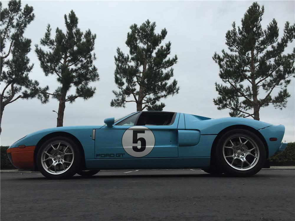 2006 FORD GT HERITAGE EDITION - Side Profile - 182333