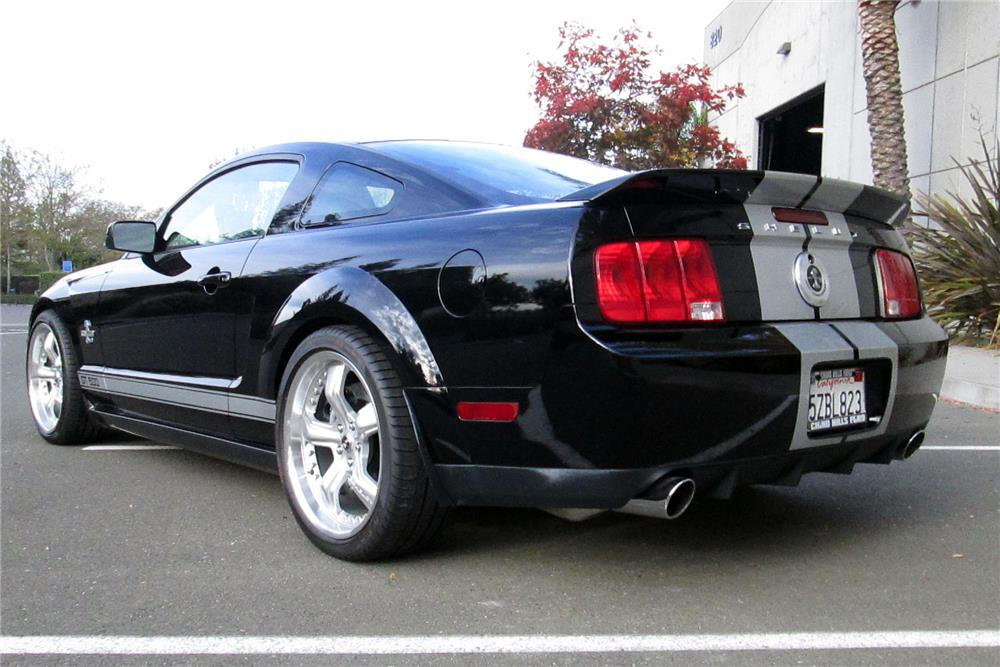 2007 SHELBY GT500 40TH ANNIVERSARY - Rear 3/4 - 182385