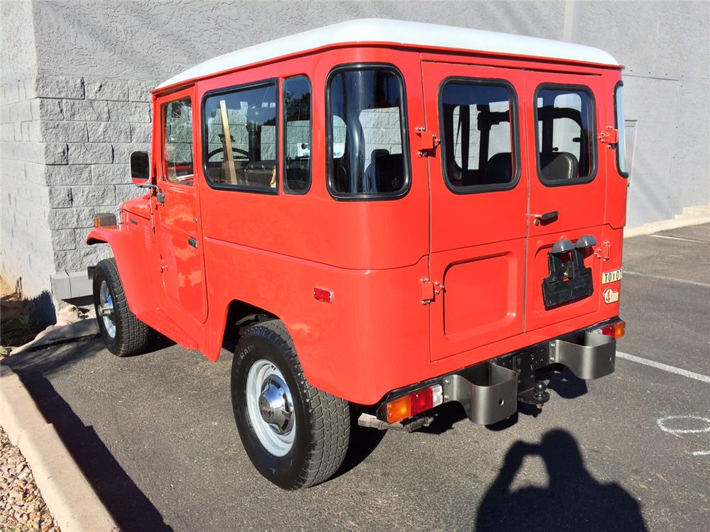 1978 TOYOTA LAND CRUISER FJ-40 SUV - Rear 3/4 - 182390