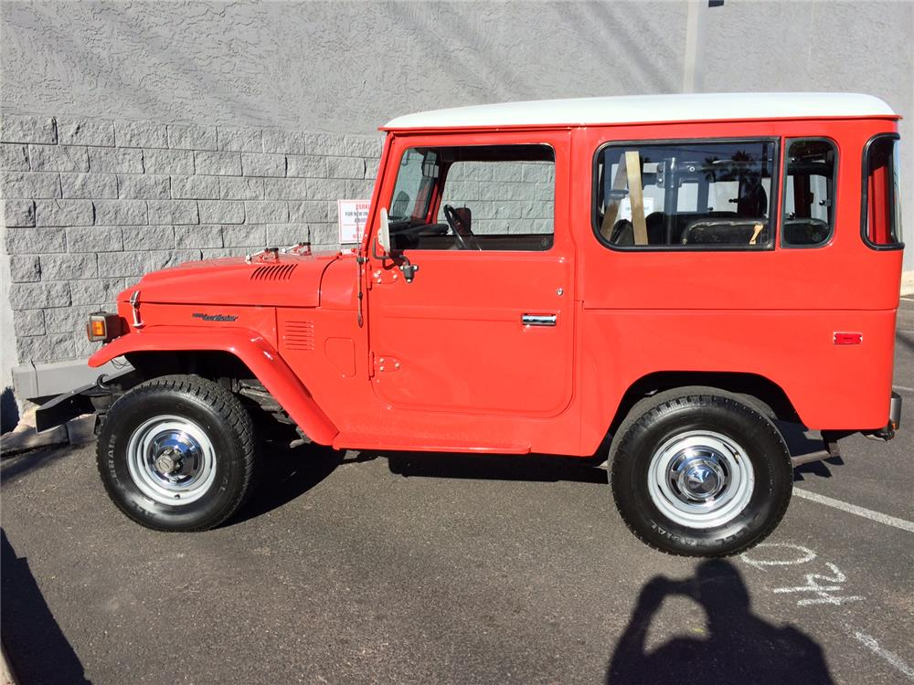 1978 TOYOTA LAND CRUISER FJ-40 SUV - Side Profile - 182390
