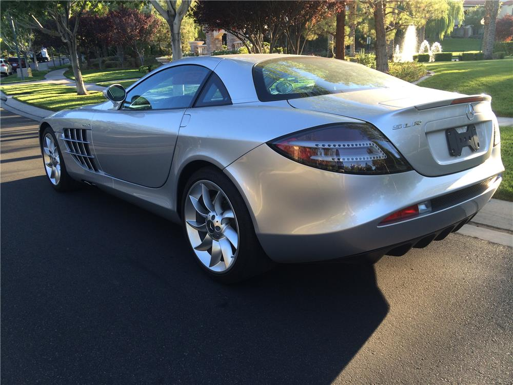 2005 MERCEDES-BENZ SLR MCLAREN - Rear 3/4 - 182409