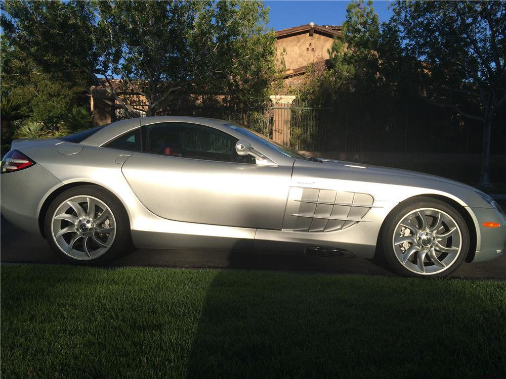 2005 MERCEDES-BENZ SLR MCLAREN - Side Profile - 182409