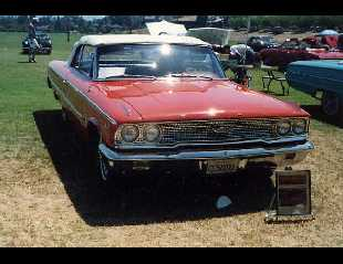 1963 FORD GALAXIE 500 XL CONVERTIBLE -  - 18241
