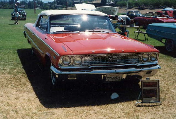 1963 FORD GALAXIE 500 XL CONVERTIBLE - Front 3/4 - 18241