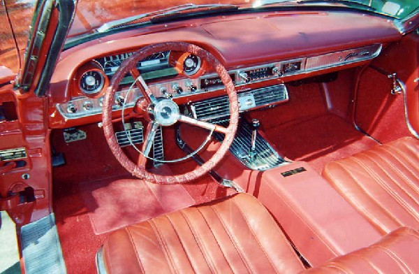 1963 FORD GALAXIE 500 XL CONVERTIBLE - Interior - 18241