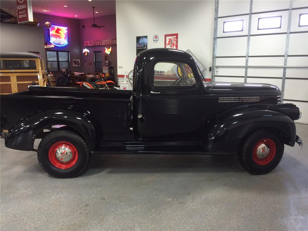 1941 CHEVROLET AK PICKUP - Side Profile - 182413
