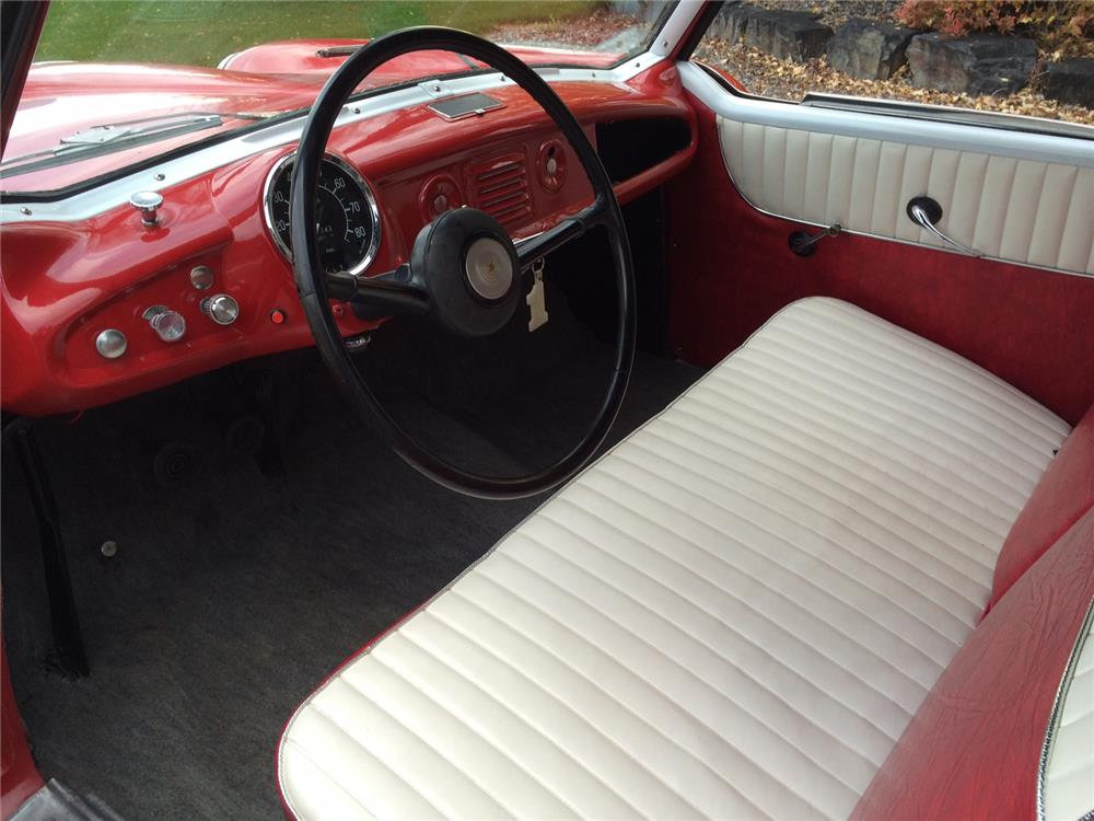 1958 NASH METROPOLITAN CONVERTIBLE - Interior - 182417