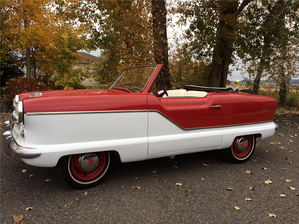 1958 NASH METROPOLITAN CONVERTIBLE - Side Profile - 182417