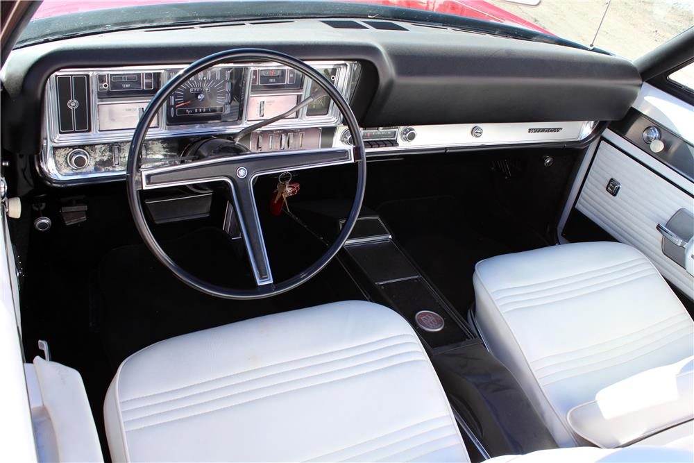 1968 BUICK WILDCAT CONVERTIBLE - Interior - 182425