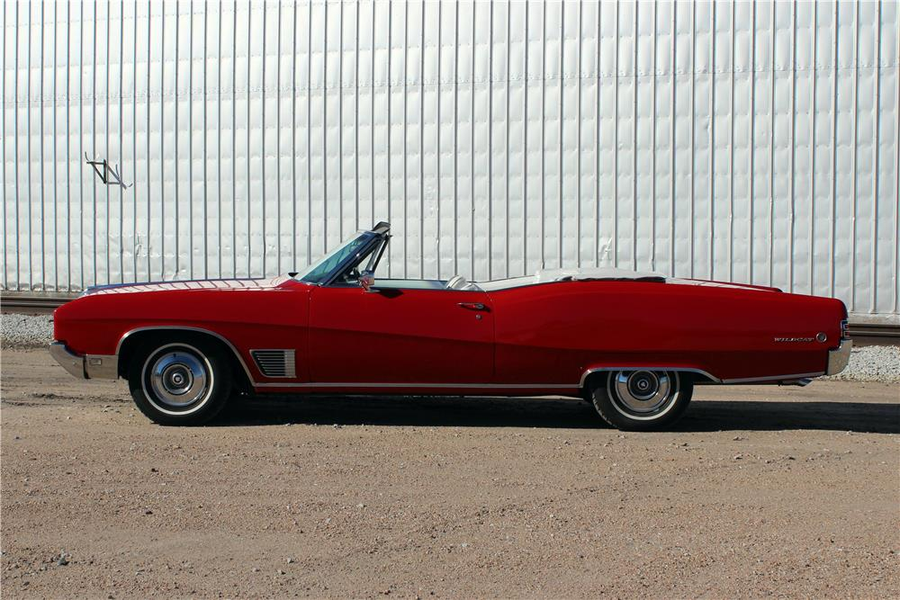 1968 BUICK WILDCAT CONVERTIBLE - Side Profile - 182425