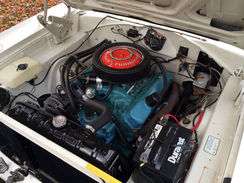 1968 PLYMOUTH ROAD RUNNER - Engine - 182443