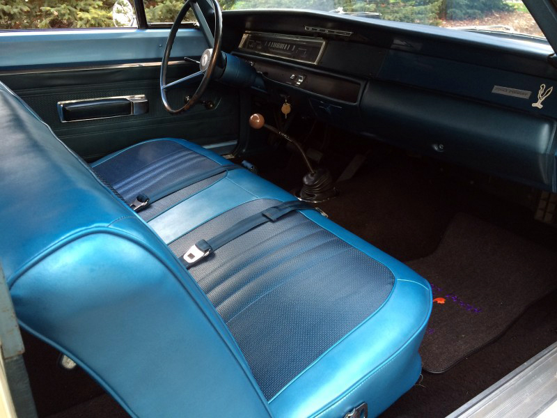 1968 PLYMOUTH ROAD RUNNER - Interior - 182443