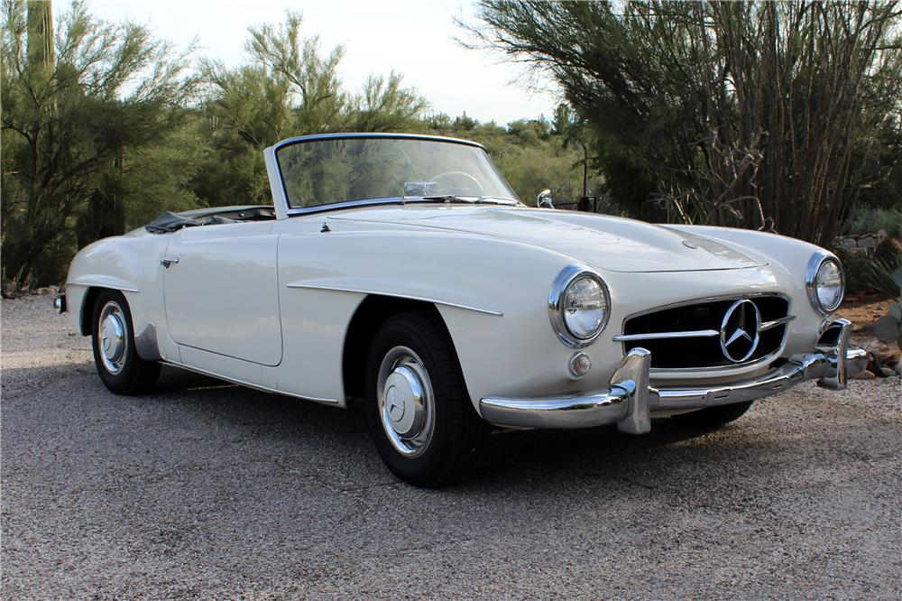 Mercedes Of Palm Beach >> 1956 MERCEDES-BENZ 190SL CONVERTIBLE