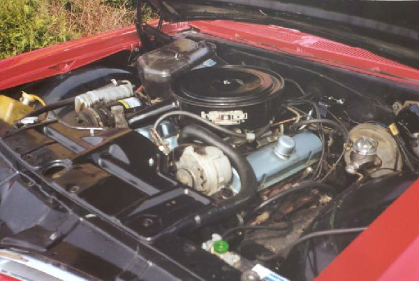 1966 PONTIAC BONNEVILLE UNKNOWN - Engine - 18245