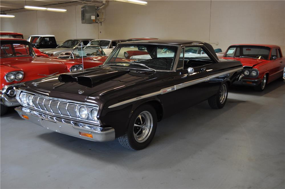 1964 PLYMOUTH SPORT FURY CUSTOM 2 DOOR HARDTOP - Side Profile - 182451