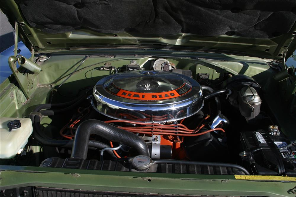 1968 PLYMOUTH HEMI GTX - Engine - 182455