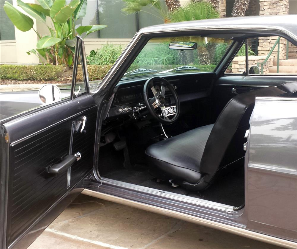 1966 CHEVROLET NOVA CUSTOM - Interior - 182458