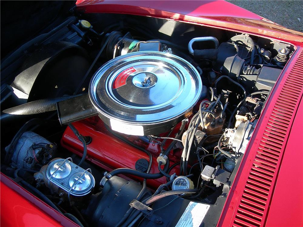 1971 CHEVROLET CORVETTE 2 DOOR COUPE - Engine - 182481