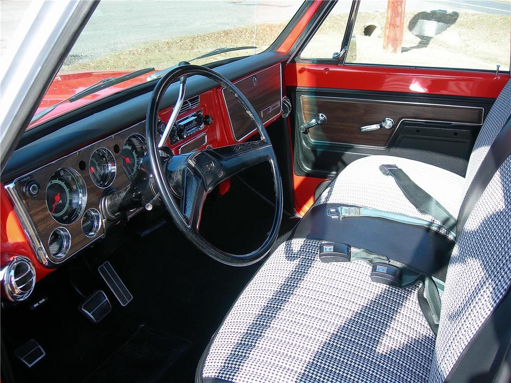 1972 CHEVROLET CHEYENNE SUPER 10 PICKUP - Interior - 182486