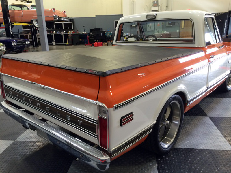 1972 CHEVROLET C-10 PICKUP - Rear 3/4 - 182502