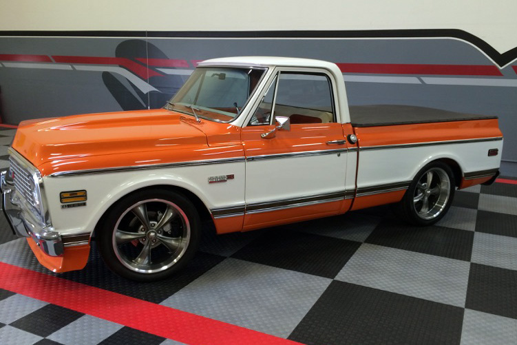 1972 CHEVROLET C-10 PICKUP - Side Profile - 182502