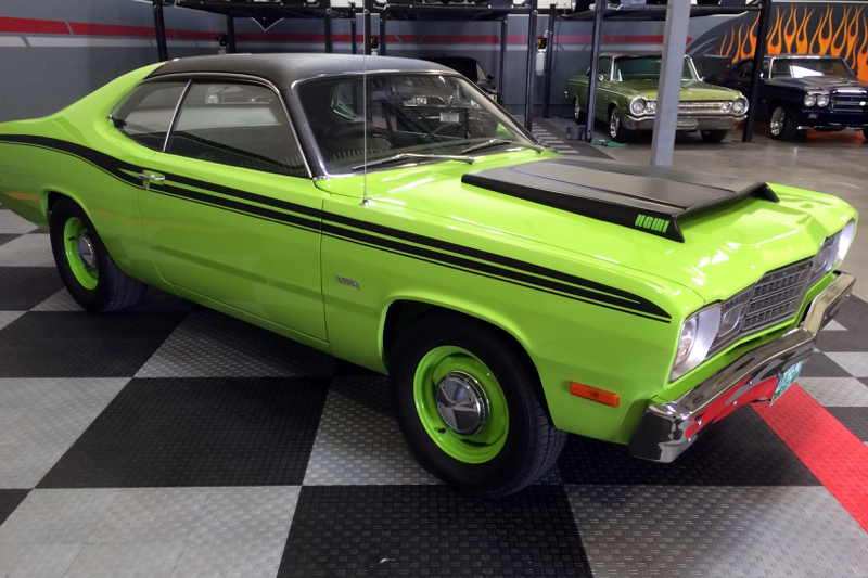 1973 PLYMOUTH DUSTER CUSTOM - Side Profile - 182518