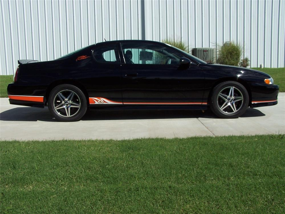 2005 Chevrolet Monte Carlo Ss 2 Door Coupe Side Profile 182545