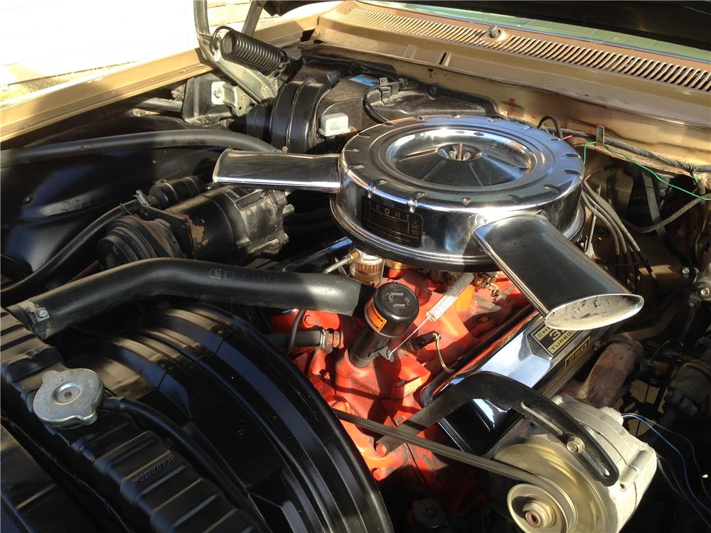1962 CHEVROLET IMPALA SS 2 DOOR COUPE - Engine - 182548
