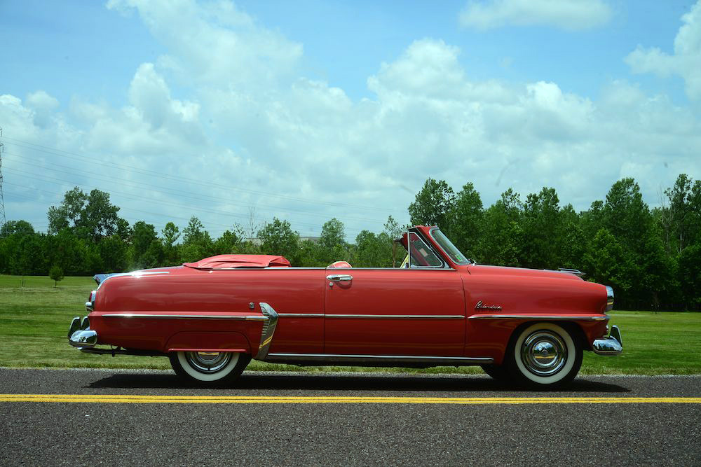 1954 PLYMOUTH BELVEDERE CONVERTIBLE - Side Profile - 182582