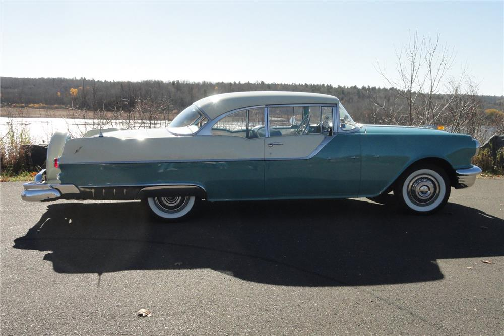 1955 PONTIAC SUPER CHIEF CATALINA - Side Profile - 182602