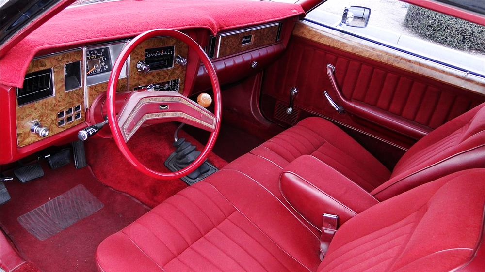 1978 FORD GRANADA 2 DOOR COUPE - Interior - 182608