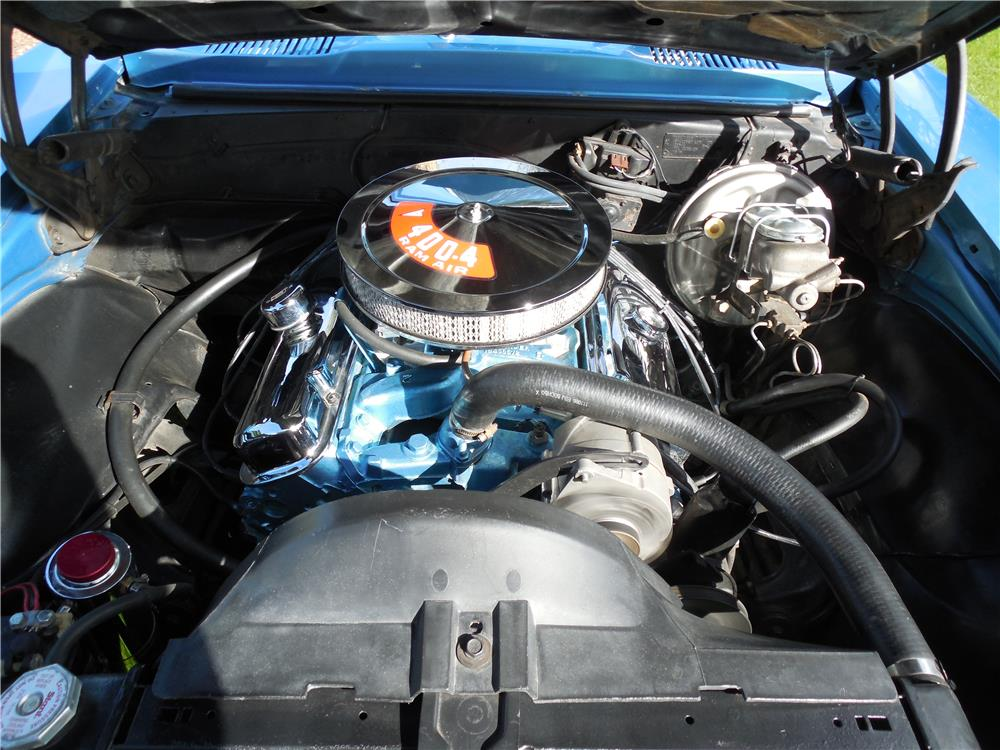 1967 PONTIAC FIREBIRD 400 CONVERTIBLE - Engine - 182617