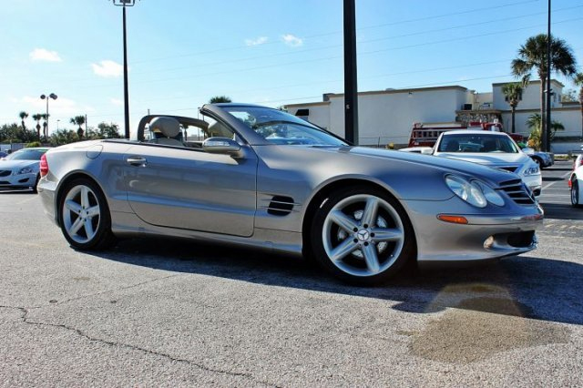 2005 MERCEDES-BENZ SL500 CONVERTIBLE - Front 3/4 - 182620