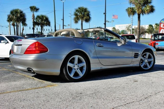 2005 MERCEDES-BENZ SL500 CONVERTIBLE - Rear 3/4 - 182620