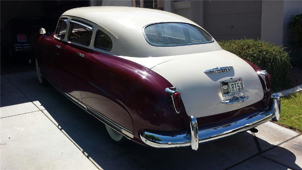 1949 HUDSON COMMODORE 4 DOOR HARDTOP - Rear 3/4 - 182626