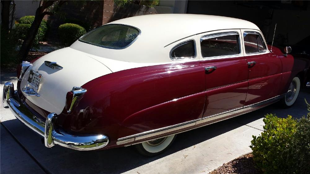 1949 HUDSON COMMODORE 4 DOOR HARDTOP - Side Profile - 182626
