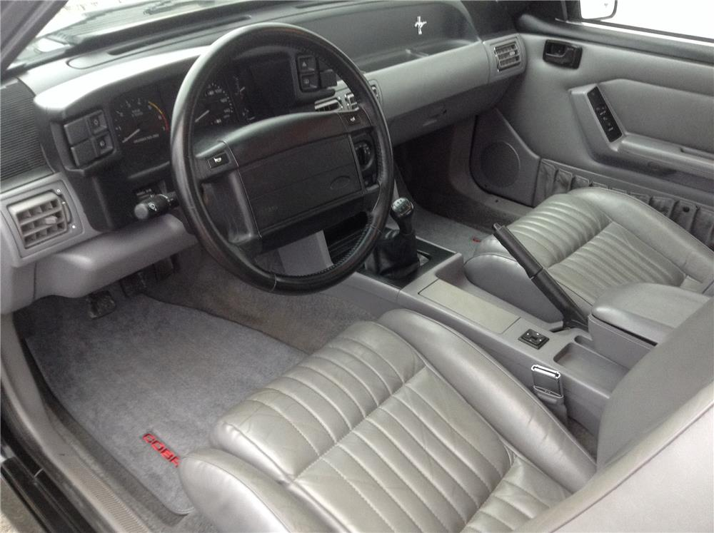 1993 ford mustang cobra svt coupe 182630 - Interior ford mustang ...
