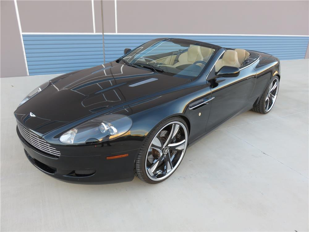 2006 aston martin db9 convertible 182639. Black Bedroom Furniture Sets. Home Design Ideas