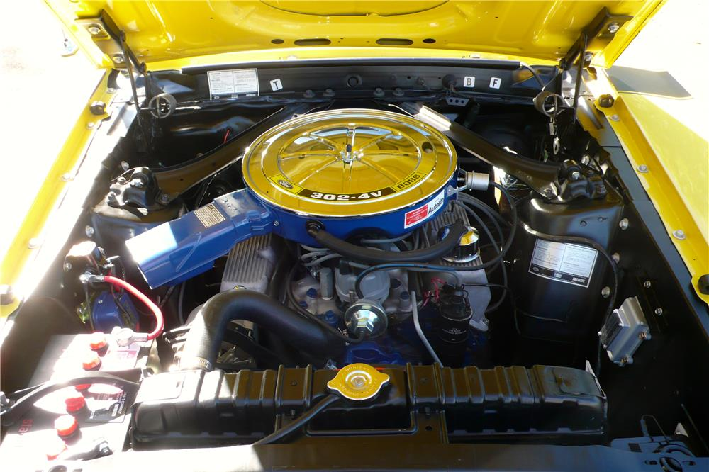 1970 FORD MUSTANG BOSS 302 FASTBACK - Engine - 182657