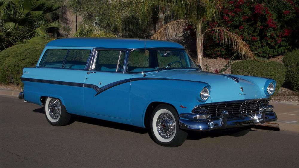 1956 ford parklane 2 door wagon 182660 for 1955 ford 2 door wagon