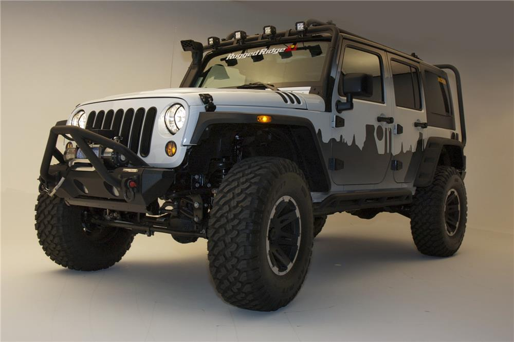 2015 Jeep Wrangler Custom Suv 182682