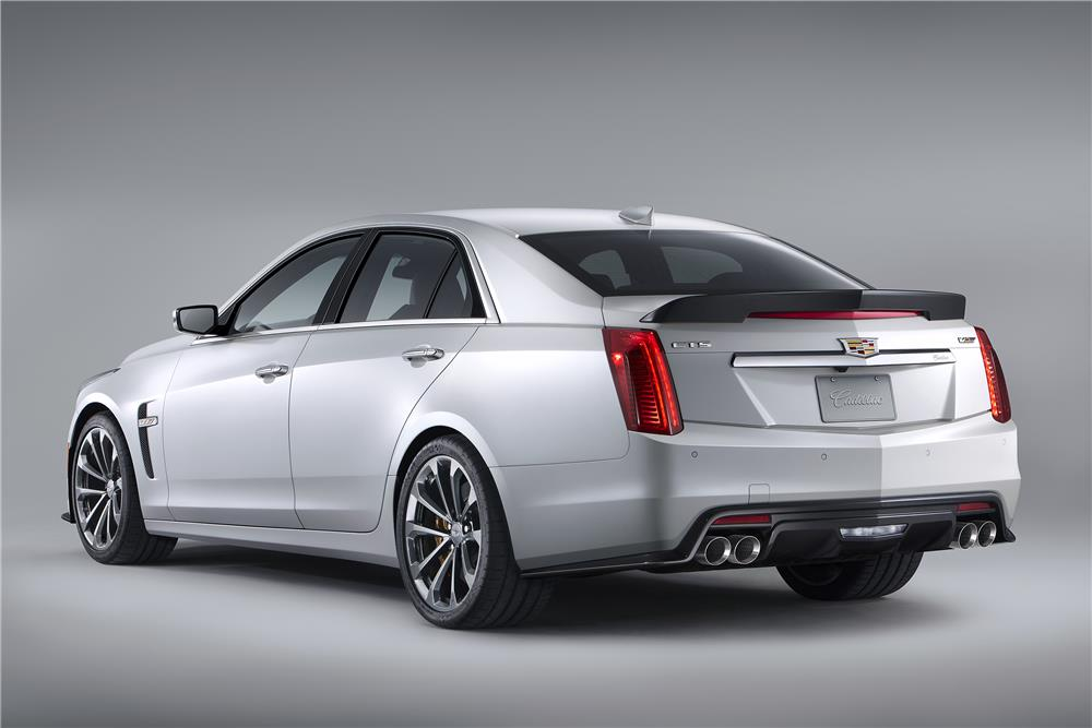 2016 CADILLAC CTS-V 4 DOOR - Rear 3/4 - 182684