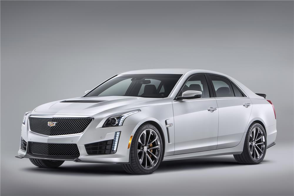 2016 CADILLAC CTS-V 4 DOOR - Side Profile - 182684