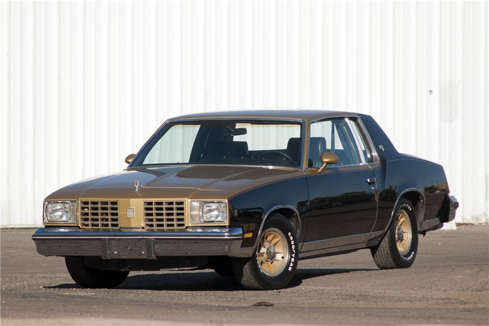 1979 OLDSMOBILE CUTLASS HURST COUPE - Front 3/4 - 182686