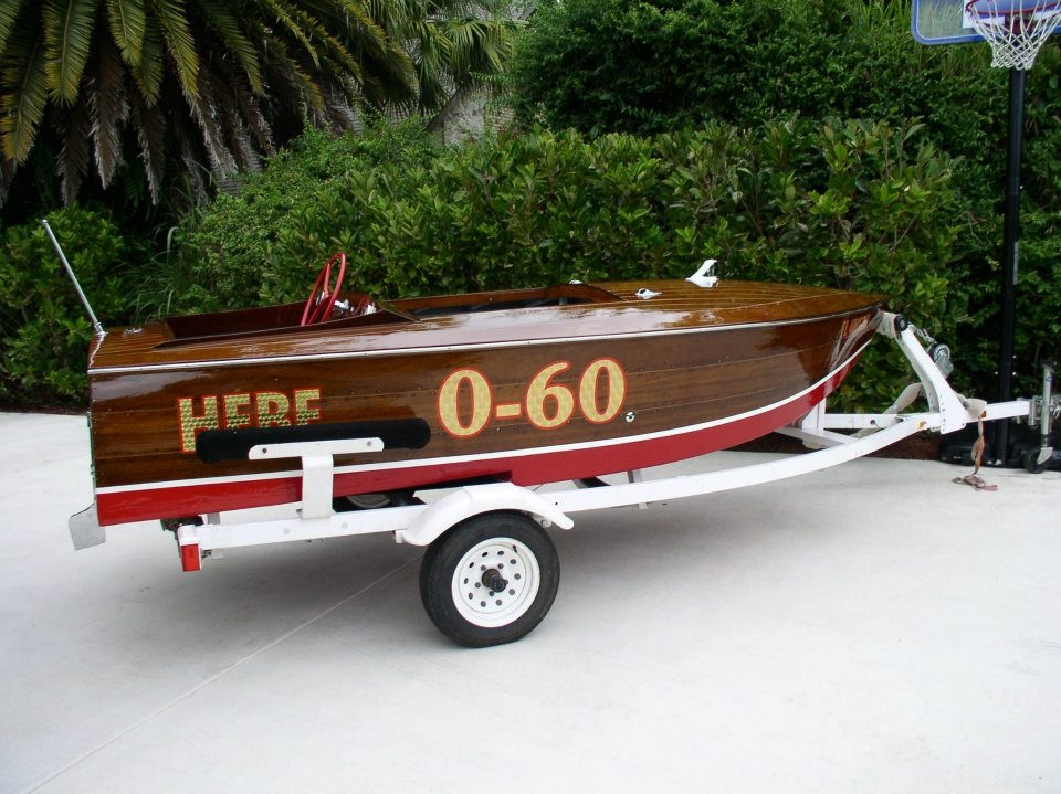 2001 SHORELANDER BOAT TRAILER - Rear 3/4 - 182720